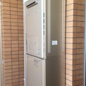 大阪府吹田市T様 RVD-E2405AW2-3(A) リンナイ製エコジョーズ・ガス給湯暖房機への取替交換工事