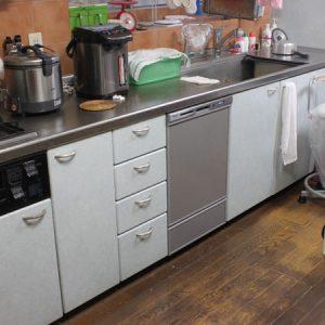 大阪府箕面市K様 NP-45MD8S パナソニック製食器洗浄機への取替交換工事