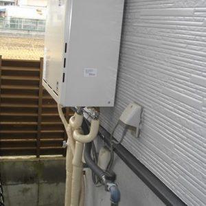 大阪府茨木市T様 RUF-A2400AW(A) リンナイ製ガスふろ給湯器の取替交換工事