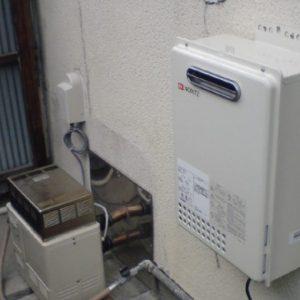 兵庫県伊丹市N様 GQ-1637WE ノーリツ製ガス給湯器(給湯専用)の新規取替工事