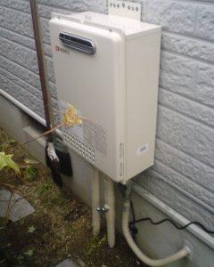 大阪府箕面市T様 GQ-1637WE ノーリツ製ガス給湯器(給湯専用)の取替交換工事