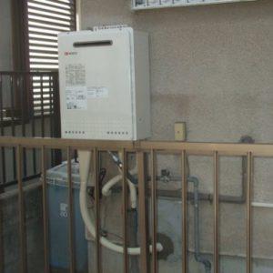 大阪府茨木市K様 GT-1650AWX ノーリツ製ガスふろ給湯器の取替交換工事