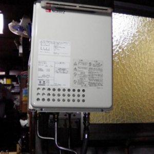 大阪府大阪市F様 GQ-1637WS ノーリツ製ガス給湯器(給湯専用)の取替交換工事