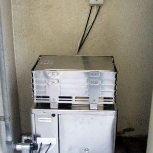 大阪府東大阪市I様 GF-132R パーパス製ガスふろがまの取替交換工事