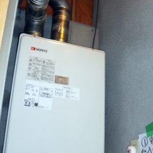大阪府富田林市M様 GT-2451AWX-FF ノーリツ製ガスふろ給湯器の取替交換工事