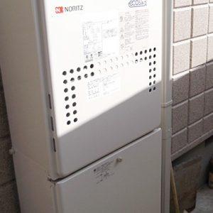 大阪府豊中市M様 GTH-C2446AWXD BL ノーリツ製エコジョーズ・ガス温水暖房付ふろ給湯器の取替交換工事