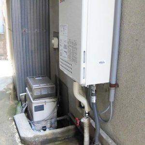 大阪府高槻市S様 GQ-1637WS ノーリツ製ガス給湯器の取替交換工事