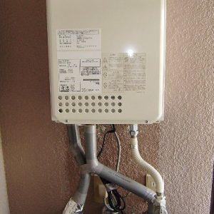 愛知県名古屋市天白区K様 GQ-1637WS ノーリツ製ガス給湯器の取替交換工事