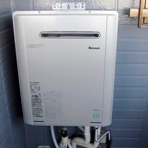 大阪府東大阪U様 RUF-E2004SAW(A) リンナイ製エコジョーズ・ガスふろ給湯器とRS31W11G15R-S ビルトインコンロ(2台)の取替交換工事