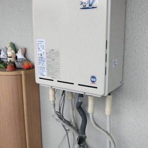 大阪府吹田市I様 RUF-A2003SAW(A) リンナイ製ガスふろ給湯器の取替交換工事