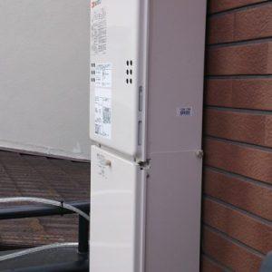 兵庫県尼崎市M様 GQ-1639WS ノーリツ製ガス給湯器の取替交換工事