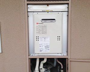 東京都東村山市S様 GQ-1639WS ノーリツ製ガス給湯器の取替交換工事