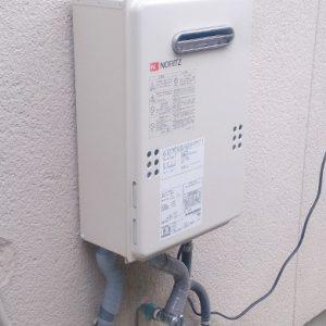 京都府京都市南区T様 GQ-1639WS ノーリツ製ガス給湯器への取替交換工事