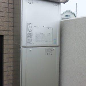 神奈川県川崎市S様 RVD-E2401SAW2-1(A) リンナイ製エコジョーズ・ガス給湯暖房機への取替交換工事