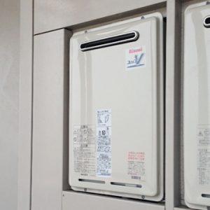 神奈川県海老名市O様 RUJ-V1611W(A) リンナイ製ガス給湯器(高温水式)への取替交換工事