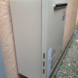 兵庫県尼崎市N様 RUF-A2400SAW(A) リンナイ製ガスふろ給湯器への取替交換工事
