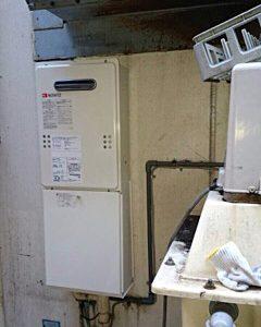 東京都台東区N様 GQ-1639WS ノーリツ製ガス給湯器への取替交換工事