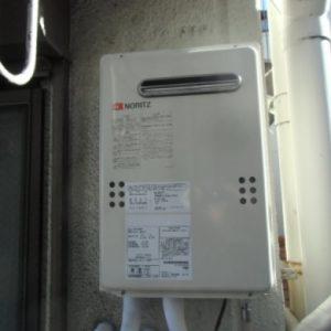 東京都北区I様 GQ-2039WS ノーリツ製ガス給湯器(給湯専用)への取替交換工事