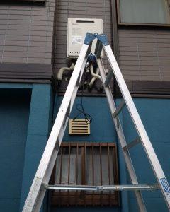 大阪府門真市M様 GT-2050AWX-2 BL ノーリツ製ガスふろ給湯器への取替交換工事