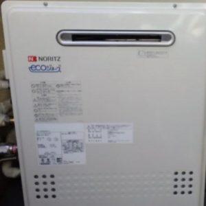 東京都台東区Y様 GT-C2452SARX-2 BL ノーリツ製エコジョーズ・ふろ給湯器への取替交換工事