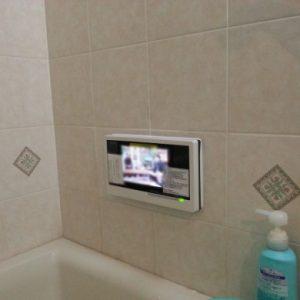 埼玉県和光市S様 DS-701 リンナイ製浴室防水テレビへの取替交換工事