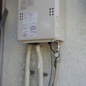 東京都調布市T様 GQ-1639WS ノーリツ製ガス給湯器(給湯専用)への取替交換工事