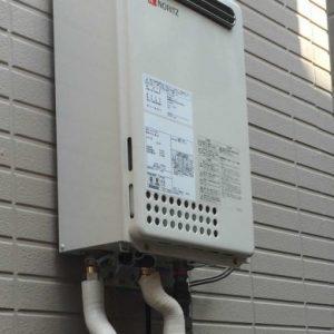 兵庫県尼崎市S様 GQ-2437WS ノーリツ製ガス給湯器(給湯専用)への取替交換工事