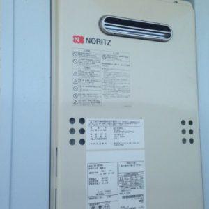 大阪府箕面市S様 GQ-1639WS ノーリツ製ガス給湯器(給湯専用)への取替交換工事