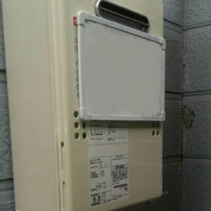 宮城県仙台市H様 GQ-1639WS ノーリツ製ガス給湯器(給湯専用)への取替交換工事