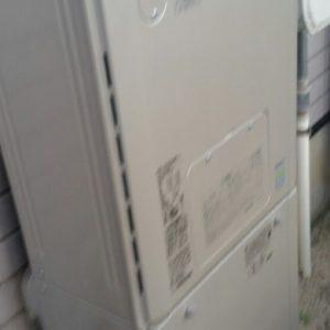 大阪府池田市N様 RVD-E2405AW2-1 リンナイ製エコジョーズ・ガス給湯暖房機への取替交換工事