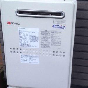 奈良県香芝市K様 GTH-C2449AWD BL ノーリツ製エコジョーズ・ガス温水暖房付ふろ給湯器への取替交換工事