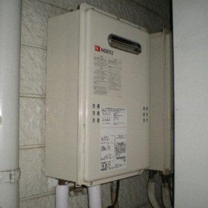 東京都豊島区J様 GQ-1639WS ノーリツ製ガス給湯器(給湯専用)への取替交換工事