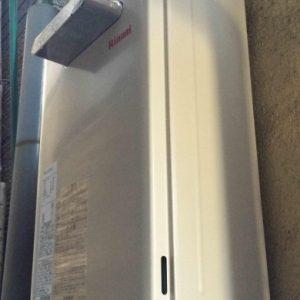 大阪府大阪市U様 RUX-A1610W-E リンナイ製ガス給湯器(給湯専用)の取替交換工事
