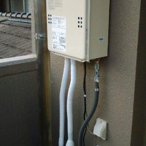 奈良県奈良市I様 GQ-1639WS ノーリツ製ガス給湯器(給湯専用)への取替交換工事