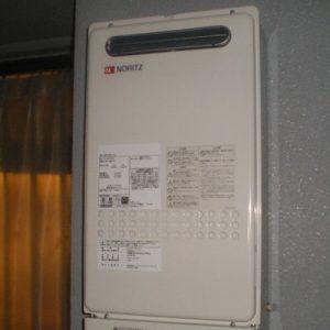 神奈川県横浜市青葉区A様 GQ-2427AWX ノーリツ製ガス給湯器(給湯専用)への取替交換工事