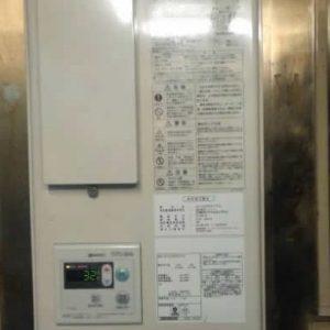 東京都渋谷区T様 GQ-C2422WZD-FH ノーリツ製業務用エコジョーズ・ガス給湯器への取替交換工事