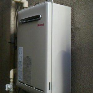 東京都港区H様 RUX-A2010W-E リンナイ製ガス給湯器(給湯専用)への取替交換工事