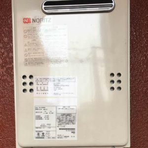 大阪府大阪市N様 GQ-2039WS ノーリツ製ガス給湯器(給湯専用)への取替交換工事