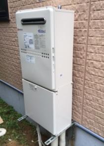 東京都台東区O様 RUF-A2005AW(A) リンナイ製ガスふろ給湯器への取替交換工事