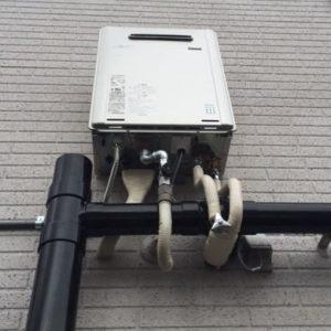 大阪府堺市F様 RUF-E2405SAW(A) リンナイ製エコジョーズ・ガスふろ給湯器への取替交換工事