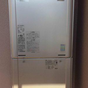 兵庫県尼崎市T様 RUF-E2405AW(A) リンナイ製エコジョーズ・ガスふろ給湯器への取替交換工事