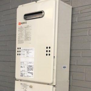 大阪府箕面市H様 GQ-1639WS ノーリツ製ガス給湯器(給湯専用)への取替交換工事
