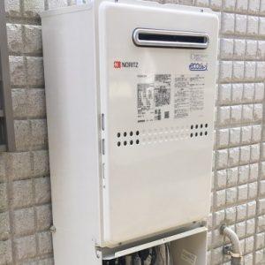 大阪府四条畷市Y様 GTH-C2449SAWD-1 BL ノーリツ製エコジョーズ・ガス温水暖房付ふろ給湯器への取替交換工事
