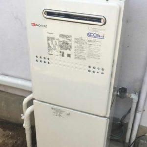 埼玉県さいたま市I様 GTH-C2049AWD-1 ノーリツ製エコジョーズ・ガス温水暖房付ふろ給湯器への取替交換工事