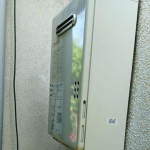 東京都小平市I様 GQ-1639WS ノーリツ製ガス給湯器(給湯専用)への取替交換工事
