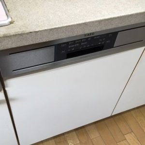 大阪府吹田市N様 F88705IMOP AEG製食器洗い乾燥機への取替交換工事