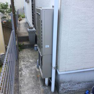 兵庫県神戸市北区N様 RUFH-E2406SAW2-6 13A リンナイ24号ガス給湯暖房機 取替交換工事