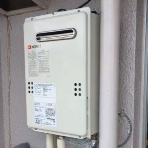 福岡県福岡市早良区 GQ-2039WS ノーリツ給湯器 取替交換工事