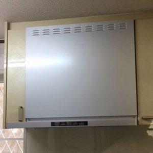 神戸市垂水区 クリナップレンジフード取替交換工事