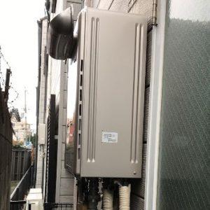 大阪府守口市 リンナイ 給湯暖房機 取替交換工事